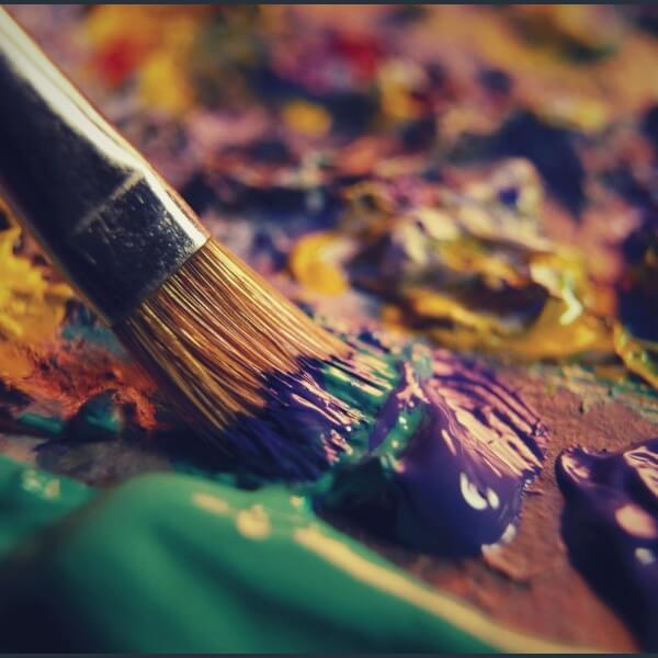 кисть и краска