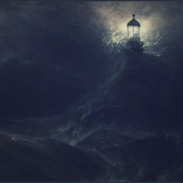маяк в темноте